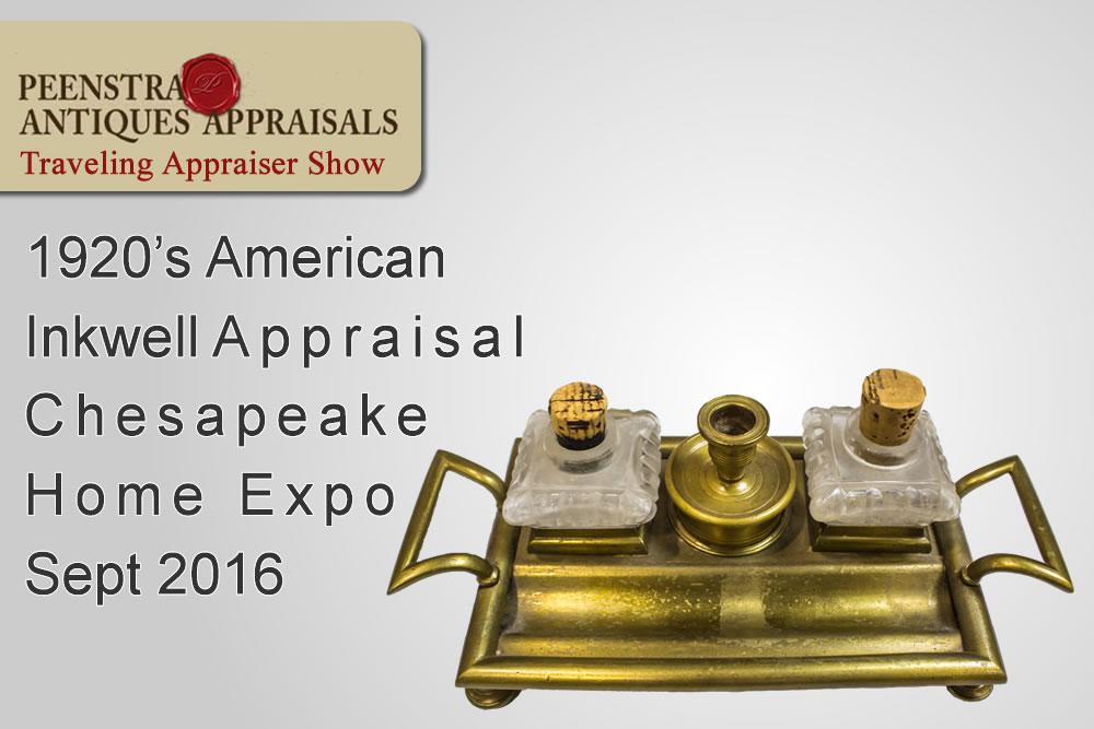 American Inkwell appraisal Easton